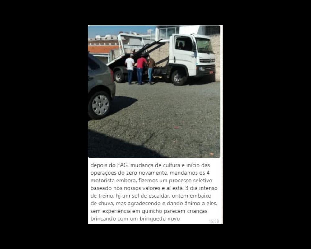 depo caminhão